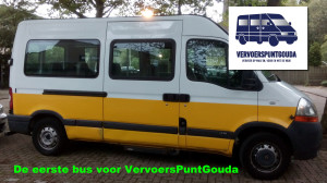 Eerste bus voor VervoersPuntGouda